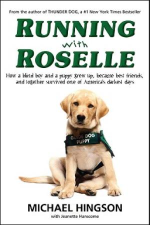 Running with Roselle, Paperback, including autograph, pawtograph and shipping
